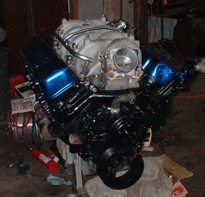 Vortec 8100 8.1L 496 Engine Swap Info on