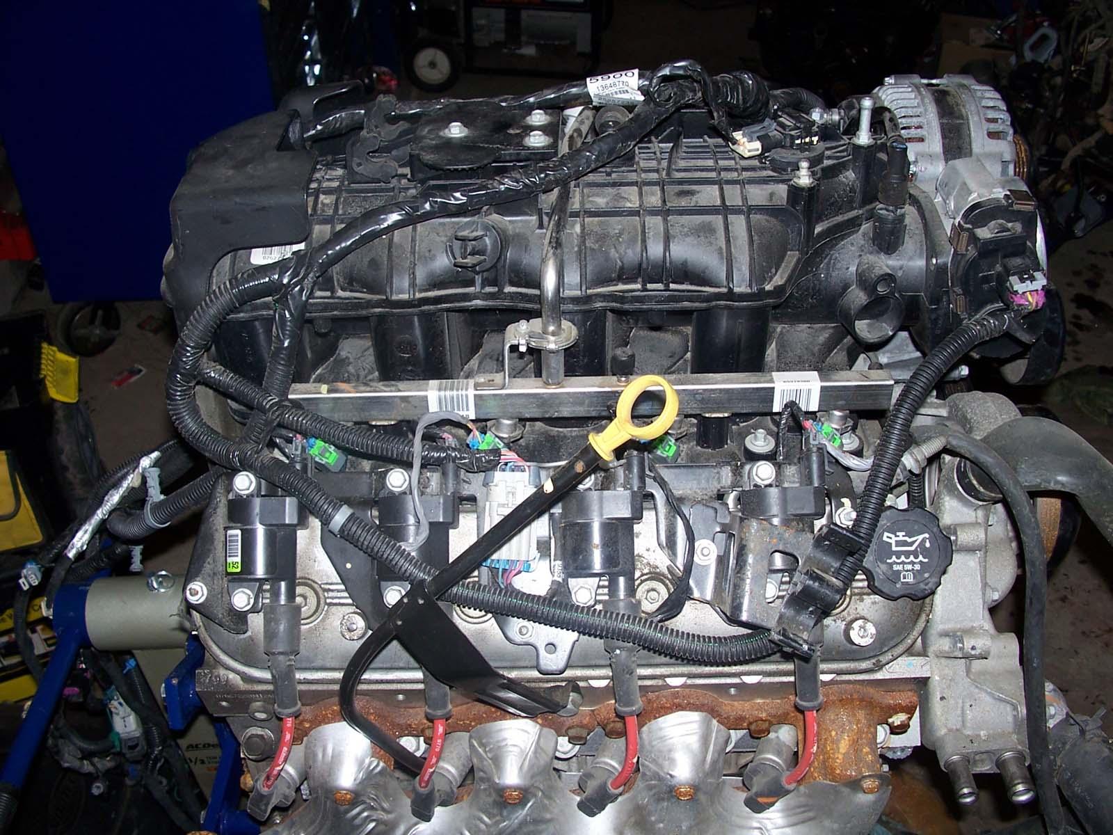 Rh Top on Chevy Roller 5 7 Vortec Engine Rebuild Kit