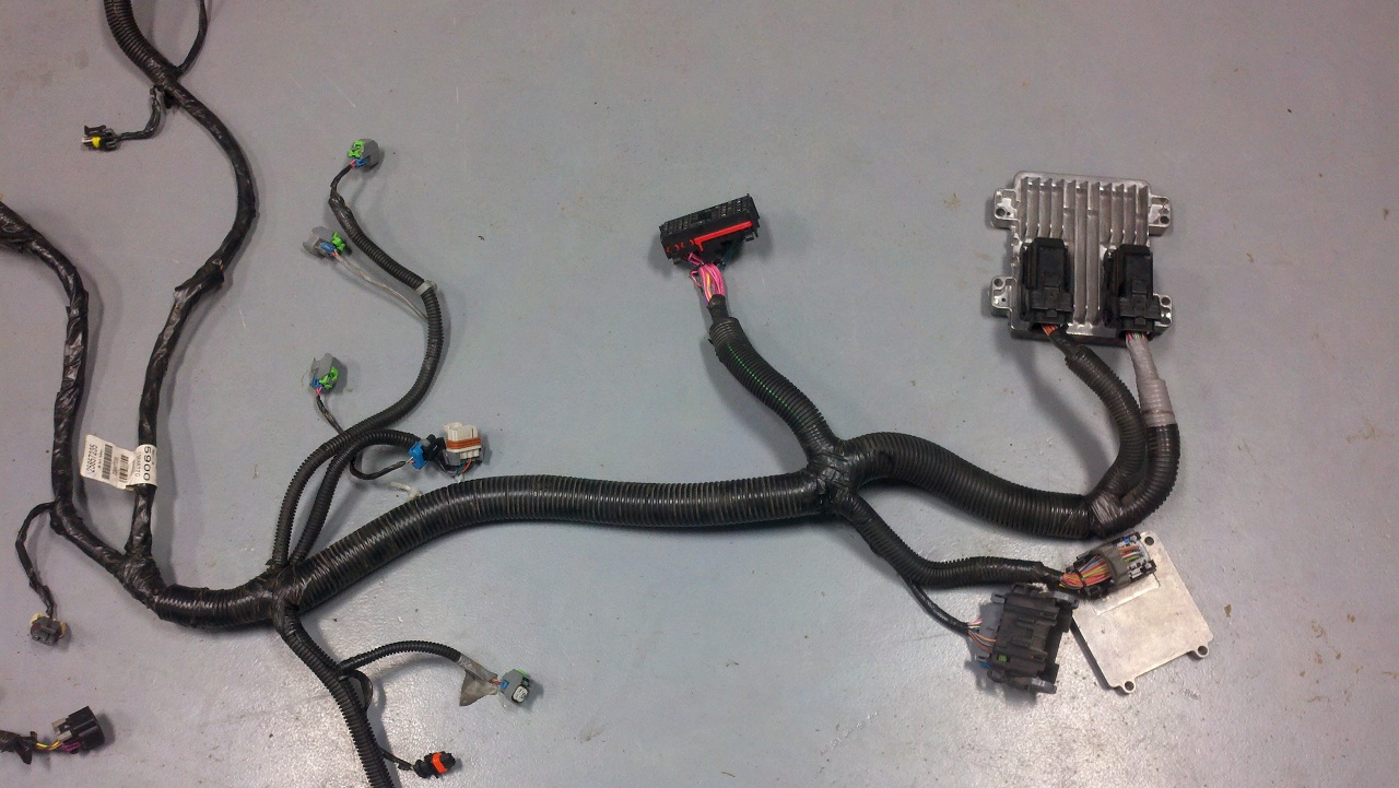 Wiring Harness Information For 2007 Up Vortec Gen Iv Truck Harnesses E67 Diagram