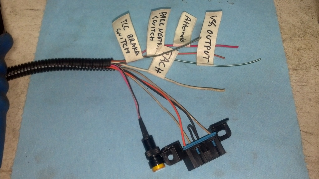Fuse Block And Obd2 Port Wiring