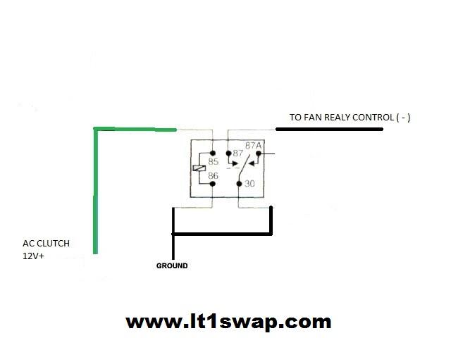 [SCHEMATICS_44OR]  Wiring Harness Information | Gm Fan Wiring |  | LT1 Swap