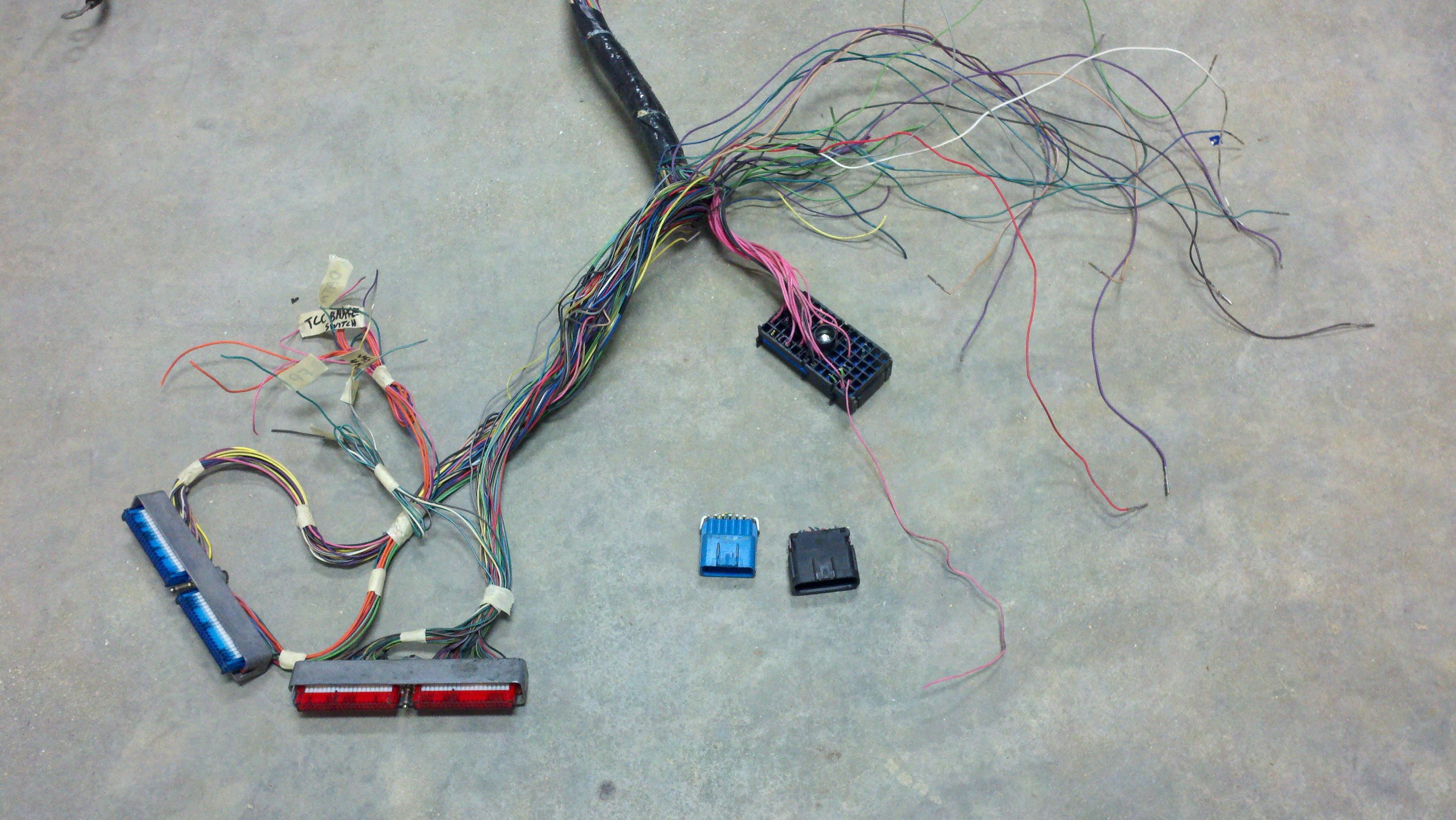 Vortec 4.8/5.3/6.0 Wiring Harness Info